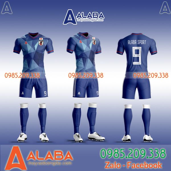 áo bóng đá màu xanh đẹp giá rẻ