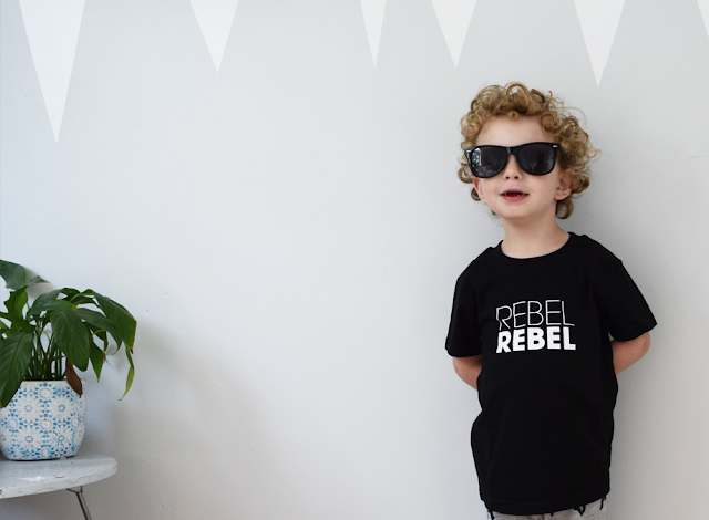 The Milk Collective Rebel Rebel David Bowie T-Shirt