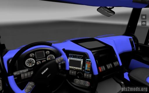 Blue DAF interior by KHAOS-XX