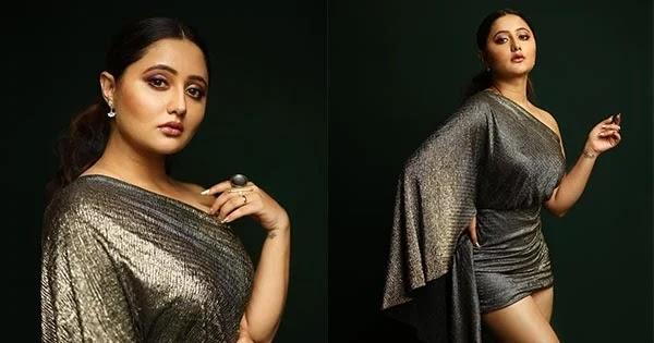 Rashami Desai raises heat in short shimmery dress