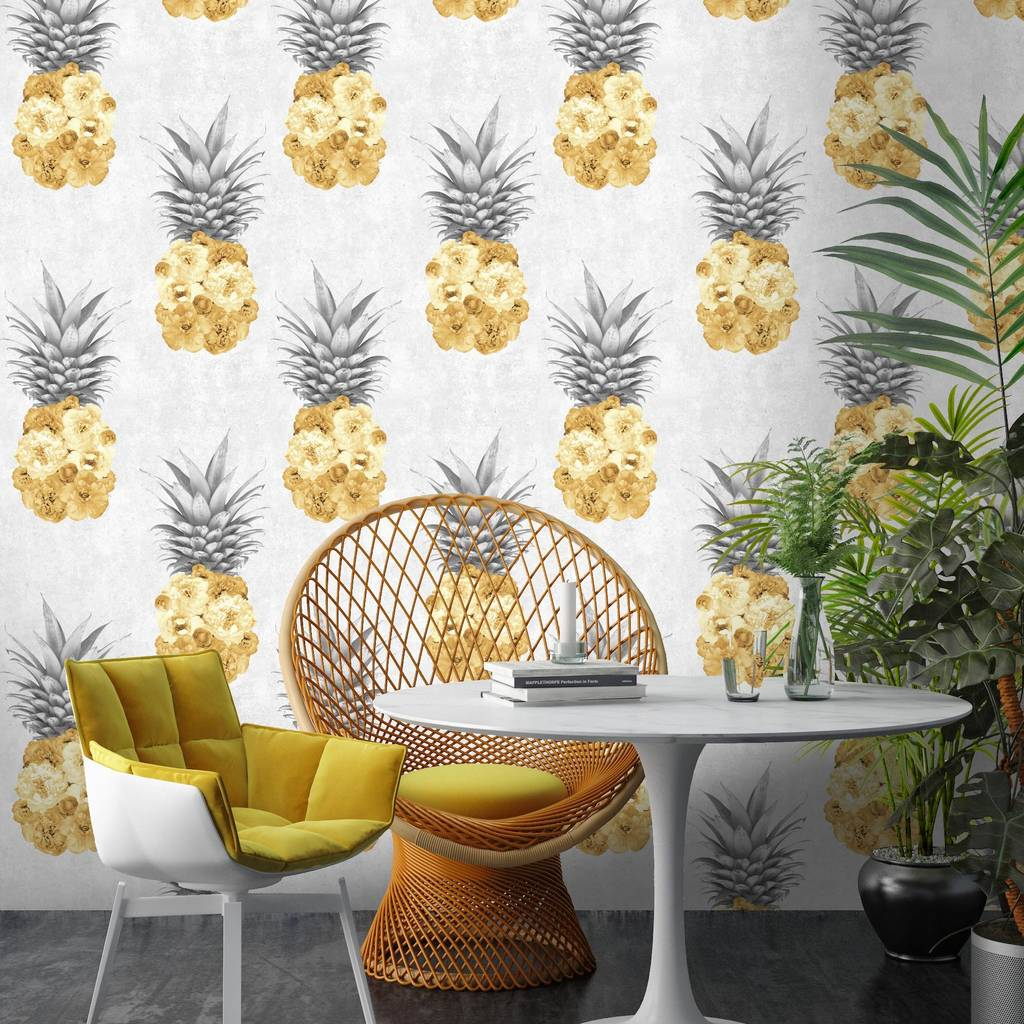 Pineapple Accessories 7 cheerful pineapple accessories | pearls & caramel