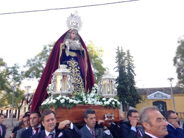 La Virgen de la Candelaria de Jerez saldrá en la procesión del Corpus de La Plata
