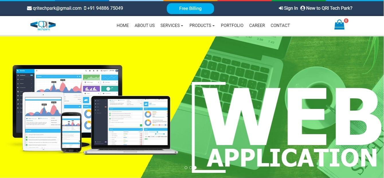 QRI Tech Park - Digital Marketing Company