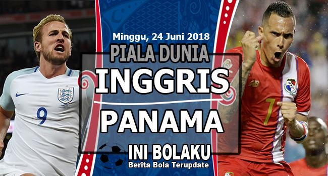 Prediksi Inggris vs Panama 24 Juni 2018