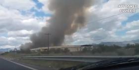 Πυρκαγιά στην παραλιακή Ναυπλίου Νέας Κίου (βίντεο)