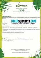 Bursa Kerja Surabaya di Larissa Aesthetic Center Juli 2020