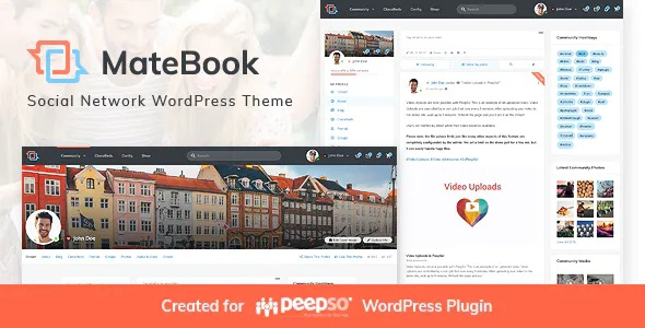 Best Social Network WordPress Theme
