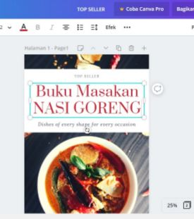 cara membuat cover buku di laptop