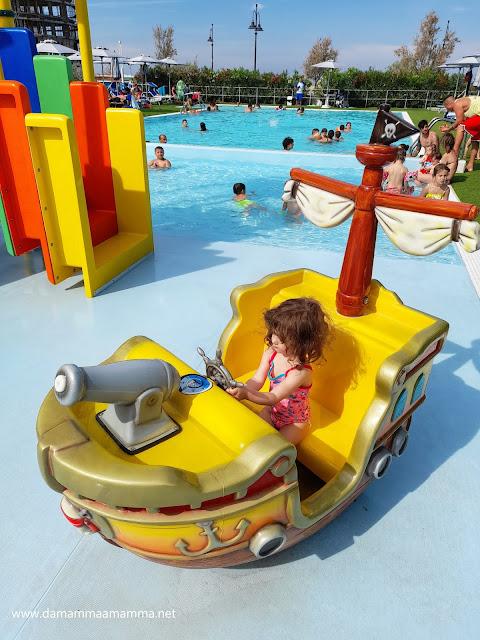 Club Family Hotel Tosi Beach splash park