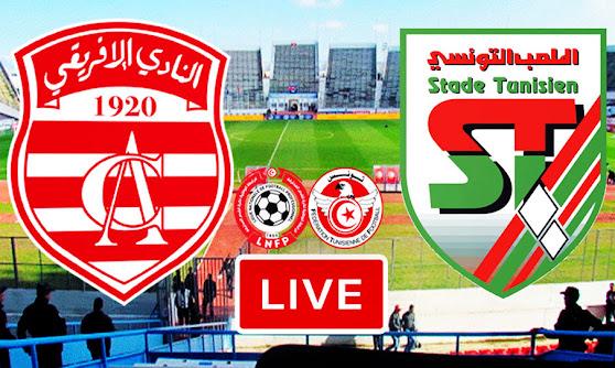 Watch Ligue 1 Tunisie Match Club Africain vs Stade Tunisien Live Stream