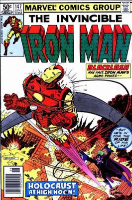 Iron Man #147, Blacklash