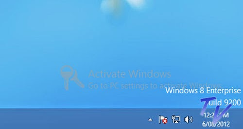 Watermark Windows 8 Enterprise