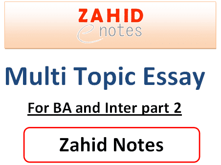 multi topic english essay pdf download for fa and ba