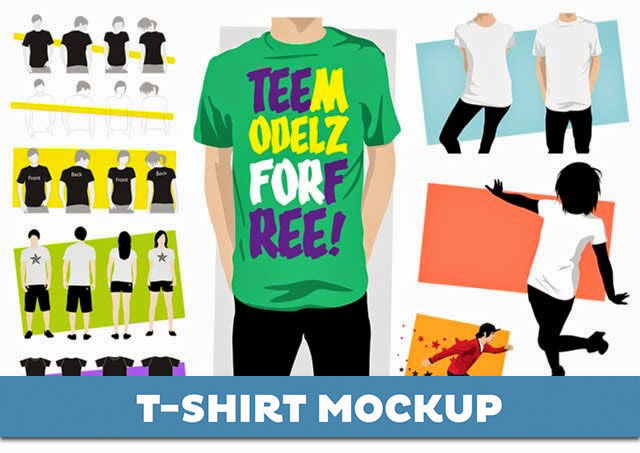 65+ Best Free T-Shirt Mockup PSD Templates