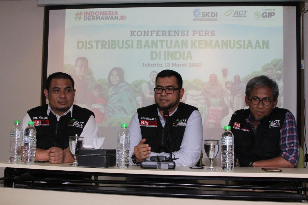 ACT Bantu Korban Kemanusiaan Tanpa Terlibat Politik Negara Berkonflik