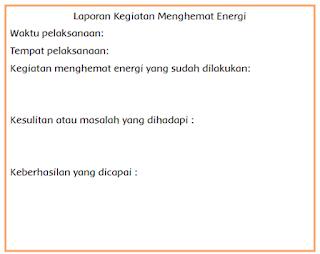 Laporan Kegiatan Menghemat Energi www.simplenews.me