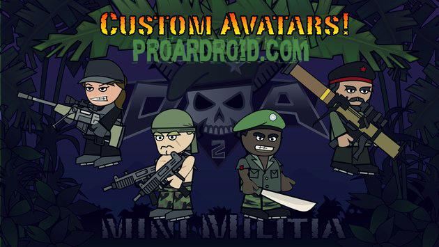 لعبة Doodle Army 2 : Mini Militia v4.2.5 مهكرة للاندرويد (اخر تحديث) logo