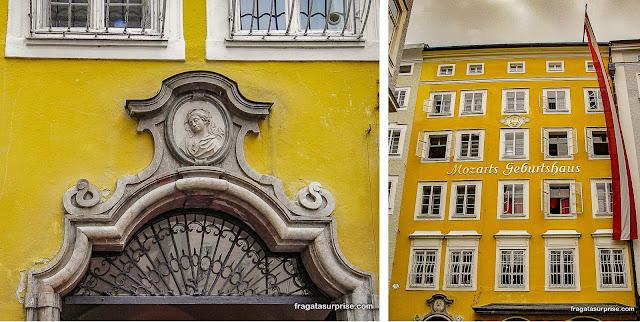 Museu Casa de Mozart, Salzburgo, Áustria