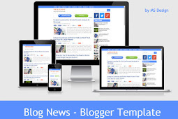 Blog News Blogger Template