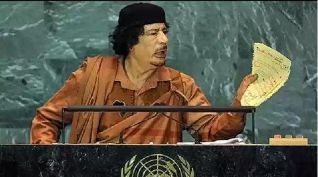 Ο Καντάφι είχε κατηγορήσει το Ισραήλ για τη δολοφονία του Τζον Κένεντι από το βήμα του ΟΗΕ – Και δεν ήταν ο μόνος