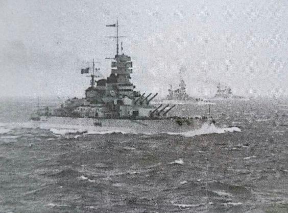 2 September 1940 worldwartwo.filminspector.com Italian battleships Vittorio Veneto Caio Duilio Giulio Cesare