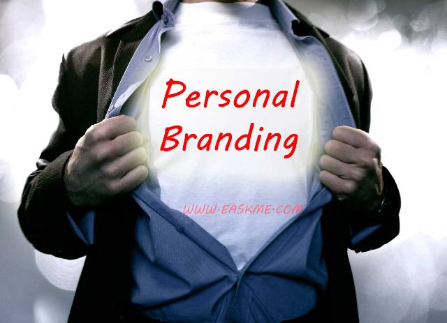 The Process of Personal Branding : eAskme