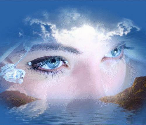 Онова ангелско синьо…