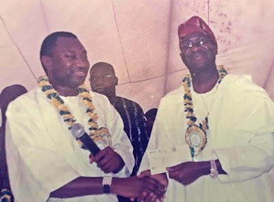 Throwback Photo Of Femi Otedola With Former Governor Babatunde Fashola In 2007