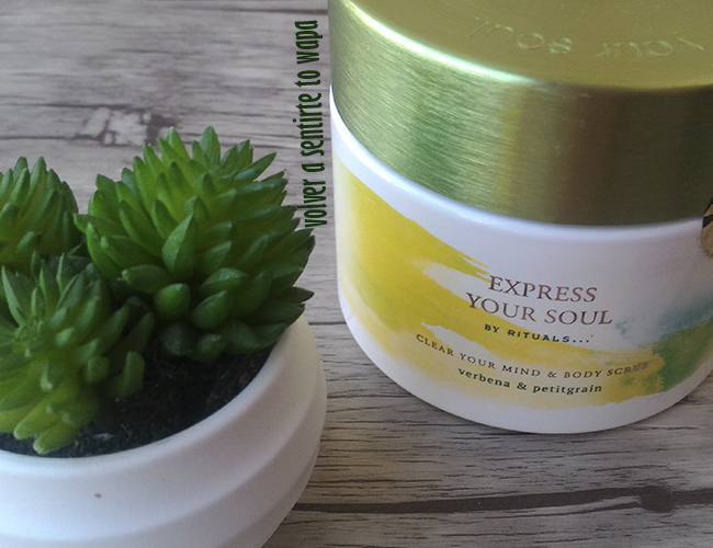 Gama Express Your Soul de Rituals - Body Scrub Exfoliante