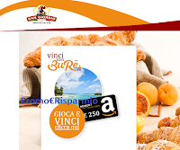 Logo San Giorgio ''Vinci con Burè'': vacanze 2x1 premio certo e vinci buoni Amazon e non solo