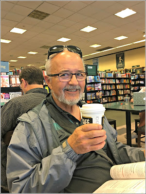 May 20, 2019 Enjoying our daily Starbucks