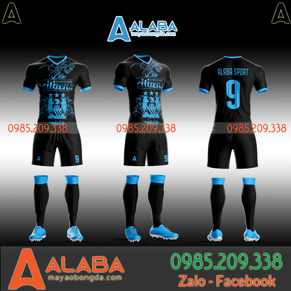 Những mẫu áo đấu Man City 2020 đẹp nhất hiện nay