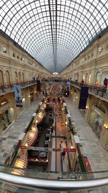 Inside GUM, Moscow