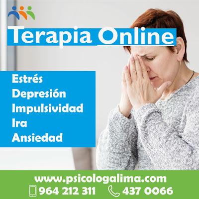 psicólogos online estres