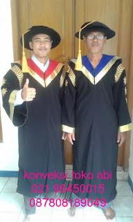 Toga Guru Besar Rektor