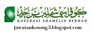 jawatan kosong Koperasi Shamelin