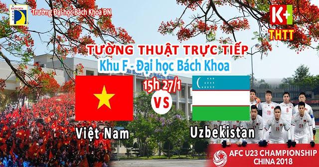 Đại học Bách khoa Đà Nẵng tường thuật trực tiếp bóng đá tại sân khu F