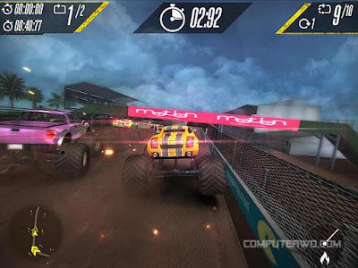 تحميل لعبة Insane Monster Truck Racing للكمبيوتر مجانية