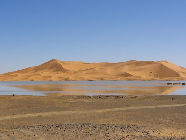 Water Crisis Facts, Desert lake