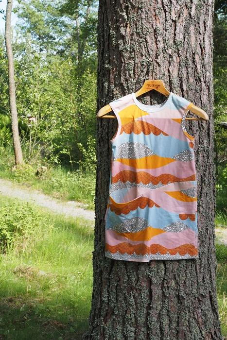 Muka va mini ss16 Vuokko mekko suomalainen lastenvaate