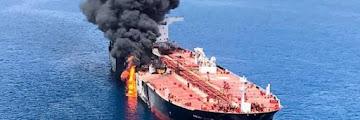 Terbongkar Kebohongan AS, Pemilik Tanker Bantah Kapalnya Ditorpedo, AS Ingin Sulut Perang?
