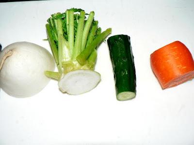 野菜の切れ端