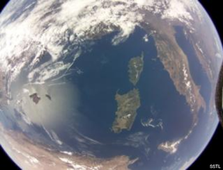 Project AstroPi - Raspberry pi takes snap from space