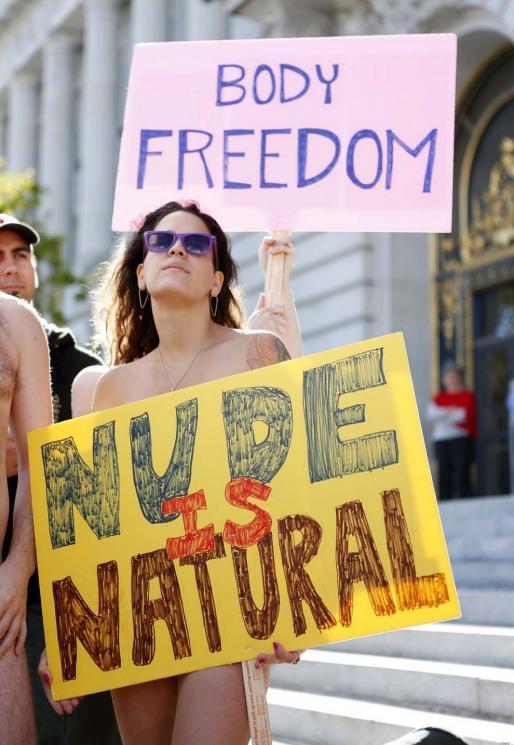 В Сан-Франциско запретили нудизм, несмотря на протесты