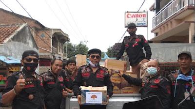 ORMAS BIDIK, Beri Bantuan Kemanusiaan Untuk Korban Longsor Cimanggung Sumedang Jawa Barat
