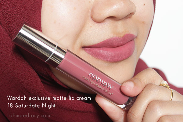 Wardah Lip Cream 18 review