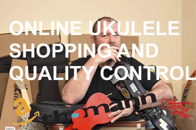 Online ukulele shopping