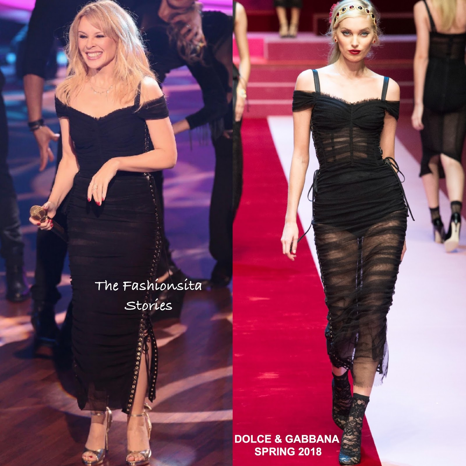 Image result for kylie minogue d&g 2018