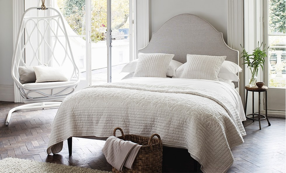 The White Company luxury bed linen