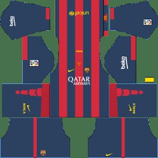 Kit DLS FC Barcelona 2014/2015